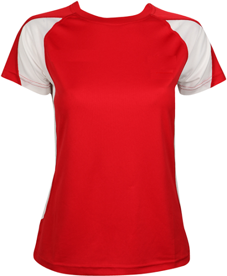 Red T-shirt Sports