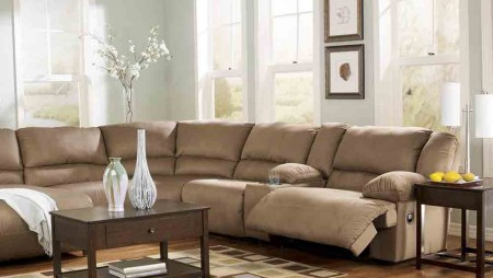 Cholate sofa